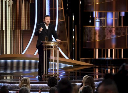 "Ricky Gervais: la ""quema"" de Hollywood"