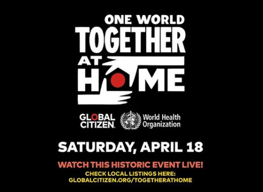 "En vivo: ""One World: Together At Home"" también es por aquí"