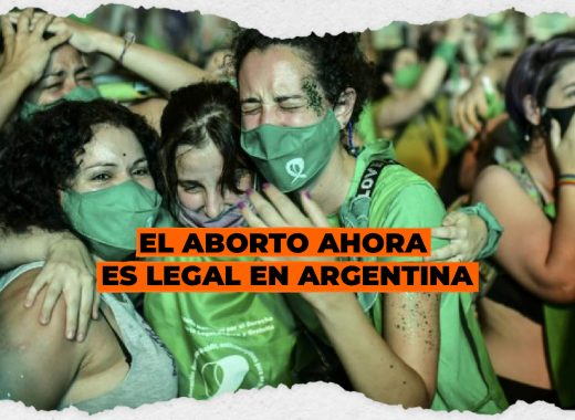 El aborto ahora es legal en Argentina [Video]