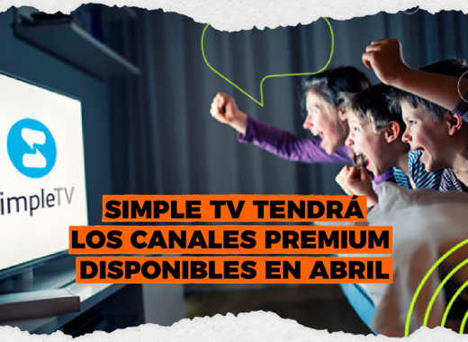 Simple TV tendrá los canales premium disponibles en abril