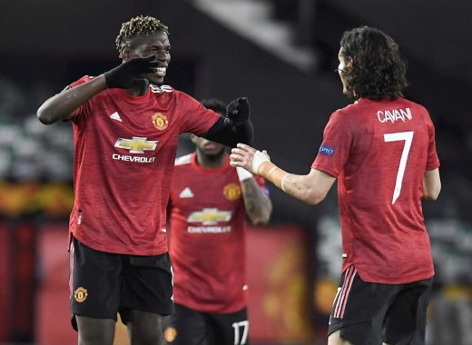 Europa League: Manchester United masacra a la Roma y Arsenal queda vivo